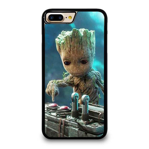 BABY GROOT GUARDIAN OF THE GALAXY iPhone 4/4S 5/5S/SE 5C 6/6S 7 8 Plus X Case Cover