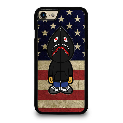 BAPE-CAMO-SHARK-AMERICA-case-for-iphone-ipod-samsung-galaxy