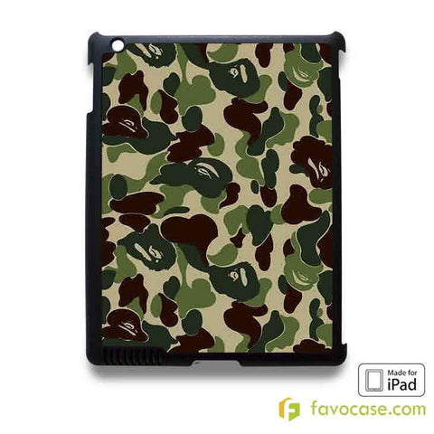 BAPE BATHING APE CAMO iPad 2 3 4 5 Air Mini Case Cover