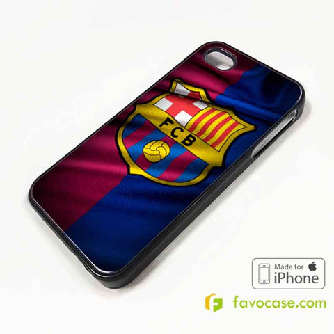 BARCELONA Football Club FC iPhone 4/4S 5/5S/SE 5C 6/6S 7 8 Plus X Case Cover