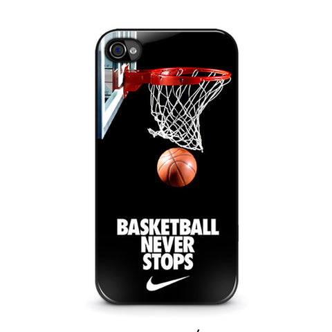 basketball-never-stops-iphone-4-4s-case-cover