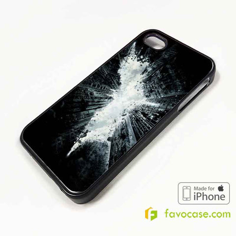 BATMAN 5 The Dark Knight iPhone 4/4S 5/5S/SE 5C 6/6S 7 8 Plus X Case Cover