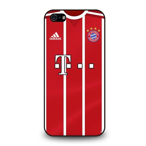 BAYERN MUNCHEN FOOTBALL JERSEY KIT-iphone-5-5s-se-case-cover