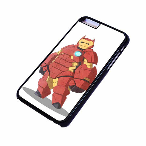 BAYMAX IRON MAN Big Hero 6 iPhone 4/4S 5/5S/SE 5C 6/6S 7 8 Plus X Case Cover