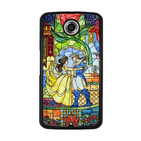 BEAUTY-AND-THE-BEAST-Disney-nexus-6-case-cover