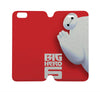 BIG HERO 6 BAYMAX Disney Wallet Case for iPhone 4/4S 5/5S/SE 5C 6/6S Plus Samsung Galaxy S4 S5 S6 Edge Note 3 4 5