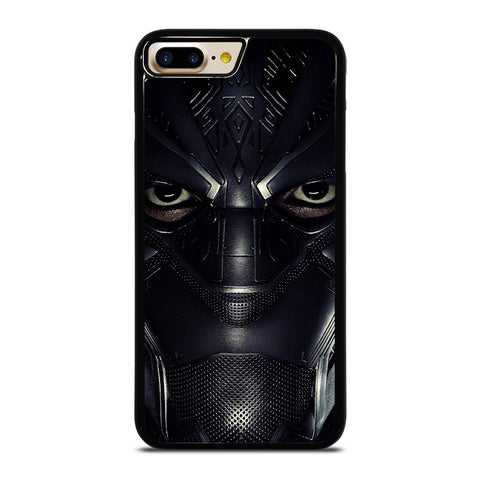 BLACK PANTHER FACE iPhone 4/4S 5/5S/SE 5C 6/6S 7 8 Plus X Case - Best Custom Phone Cover Design