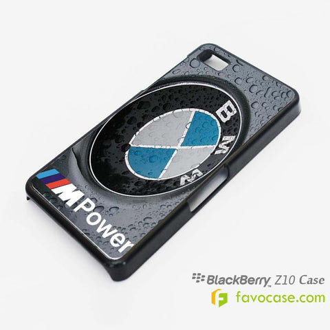 BMW Car Logo M3 Blackberry Z10 Q10 Case Cover