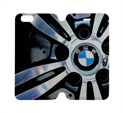 BMW Wallet Case for iPhone 4/4S 5/5S/SE 5C 6/6S Plus Samsung Galaxy S4 S5 S6 Edge Note 3 4 5