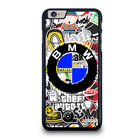 BMW-STICKER-BOMB-iphone-6-6s-plus-case-cover