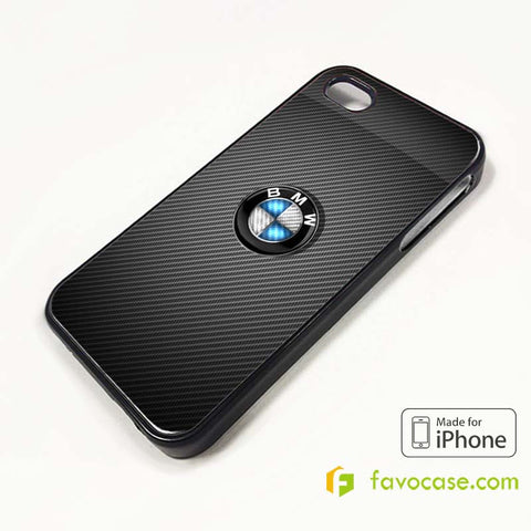 BMW 3 Car Logo iPhone 4/4S 5/5S/SE 5C 6/6S 7 8 Plus X Case Cover