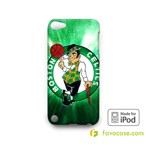 BOSTON CELTICS Basketball Team NBA iPodTouch 4, 5 Case Cover  iPod Touch 4 5 6 Case