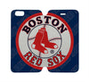 BOSTON RED SOX Wallet Case for iPhone 4/4S 5/5S/SE 5C 6/6S Plus Samsung Galaxy S4 S5 S6 Edge Note 3 4 5