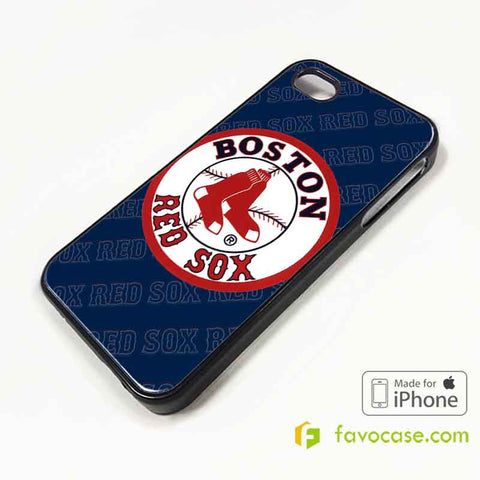 BOSTON RED SOX Baseball Team MLB iPhone 4/4S 5/5S/SE 5C 6/6S 7 8 Plus X Case Cover