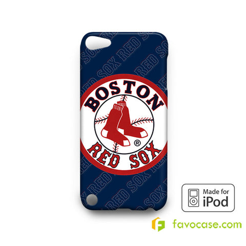 BOSTON RED SOX Baseball Team MLB iPod Touch 4, 5 Case Cover