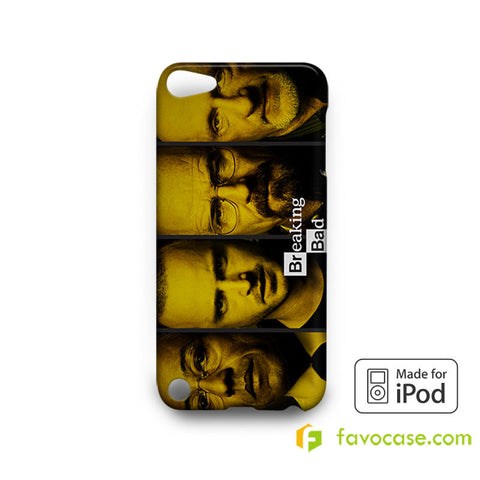 BREAKING BAD 1 Heisenberg Walter White iPod Touch 4, 5 Case Cover