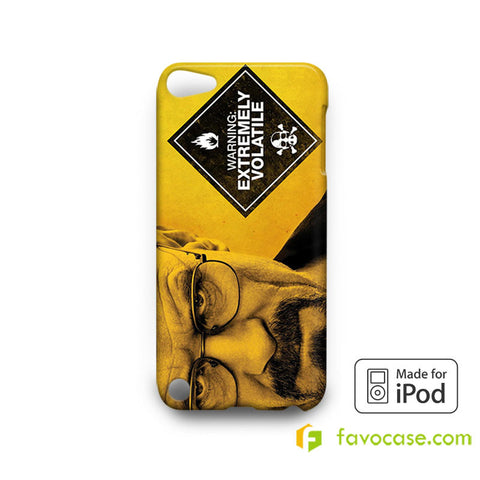 BREAKING BAD 2 Heisenberg Walter White  iPod Touch 4, 5 Case Cover