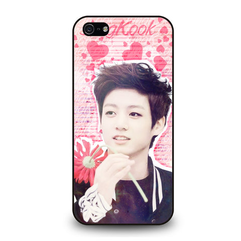 BTS BANGTAN BOYS JUNGKOOK-iphone-5-5s-se-case-cover