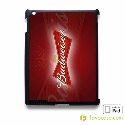 BUDWEISER iPad 2 3 4 5 Air Mini Case Cover