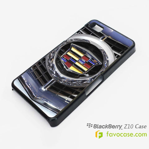 CADILLAC Car Logo Blackberry Z10 Q10 Case Cover