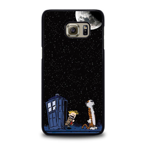 CALVIN-AND-HOBES-TARDIS-BOX-samsung-galaxy-s6-edge-plus-case-cover