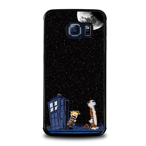 CALVIN-AND-HOBES-TARDIS-BOX-samsung-galaxy-s6-edge-case-cover