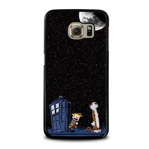 CALVIN-AND-HOBES-TARDIS-BOX-samsung-galaxy-s6-case-cover