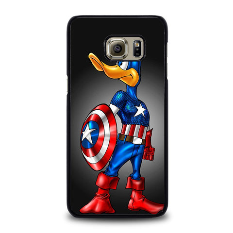 CAPTAIN-AMERICA-DAFFY-DUCK-samsung-galaxy-s6-edge-plus-case-cover