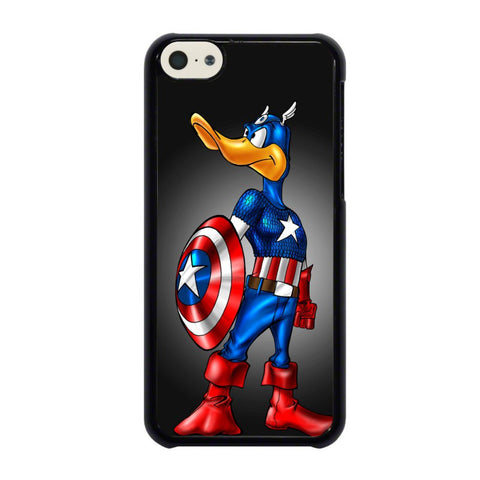 CAPTAIN-AMERICA-DAFFY-DUCK-iphone-5c-case-cover