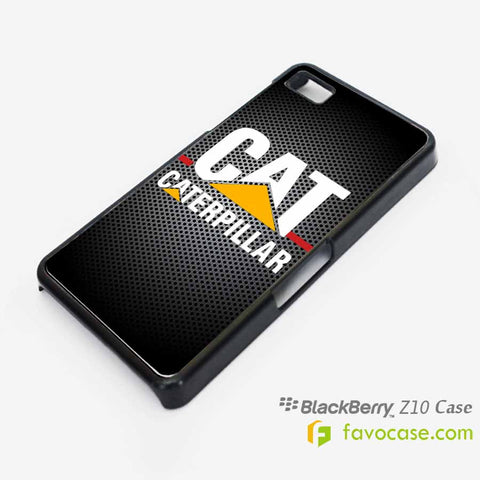 CATERPILLAR 2 Tractor Logo Blackberry Z10 Q10 Case Cover