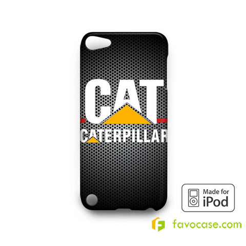 CATERPILLAR 2 Tractor Logo   iPod Touch 4 5 6 Case