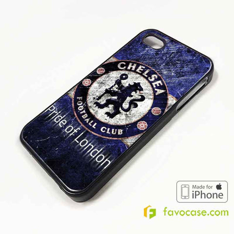 CHELSEA Football Club FC The Blues iPhone 4/4S 5/5S/SE 5C 6/6S 7 8 Plus X Case Cover