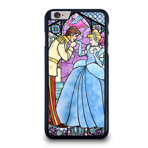 CINDERELLA-ART-GLASSES-Disney-iphone-6-6s-plus-case-cover