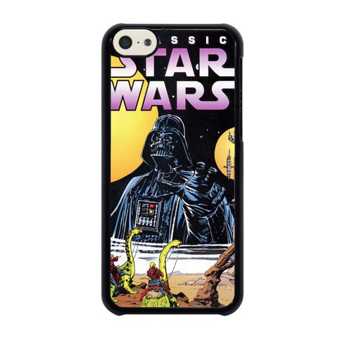 CLASSIC-STAR-WARS-DARTH-VADER-iphone-5c-case-cover