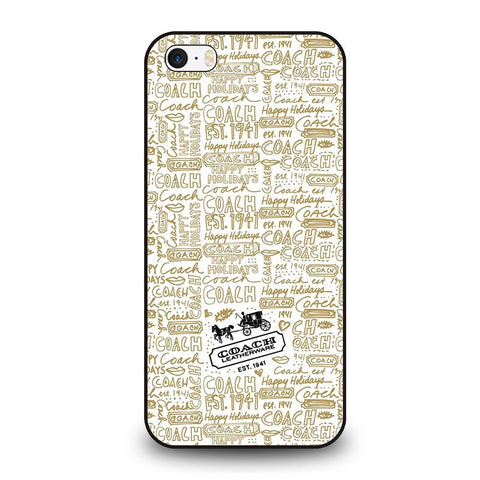 coach-new-york-collage-5sos-iphone-se-case-cover