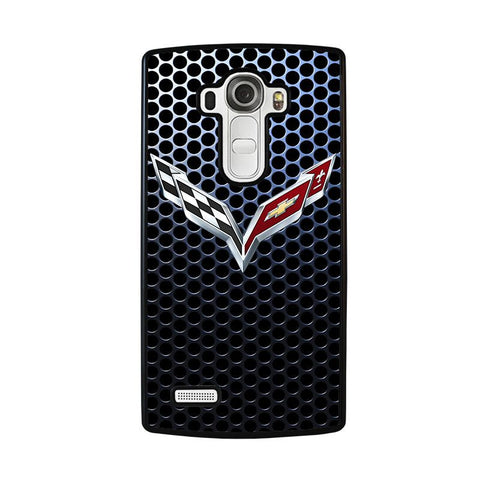 CORVETTE-CHEVROLET-Logo-lg-g4-case-cover