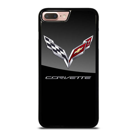 CORVETTE-CHEVY-LOGO-BLACK-iphone-8-plus-case-cover