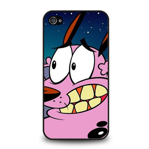 COURAGE THE COWARDLY DOG-iphone-4-4s-case-cover