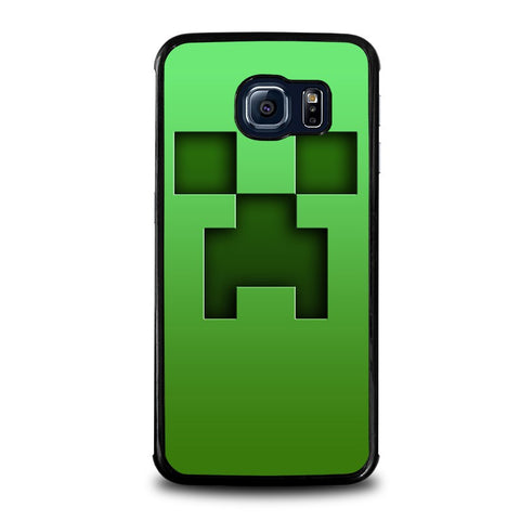 CREEPER-MINECRAFT-samsung-galaxy-s6-edge-case-cover