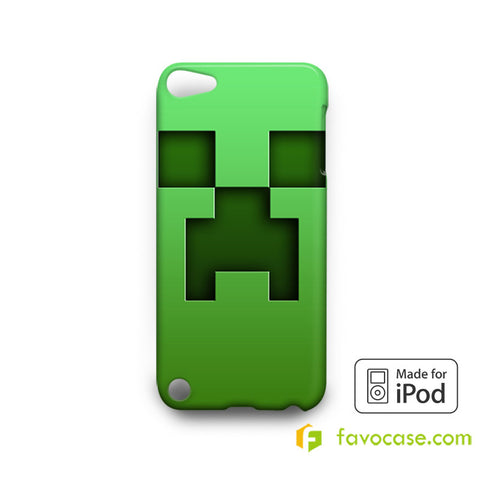CREEPER MINECRAFT  iPod Touch 4 5 6 Case