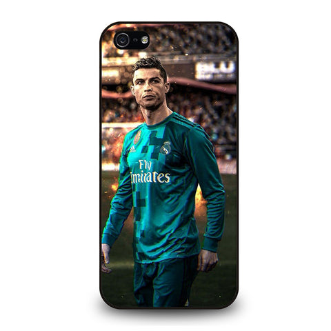 CRISTIANO RONALDO REAL MADRID ART-iphone-5-5s-se-case-cover