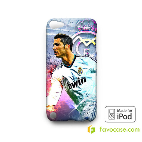 CRISTIANO RONALDO 2 Real Madrid CR7   iPod Touch 4 5 6 Case