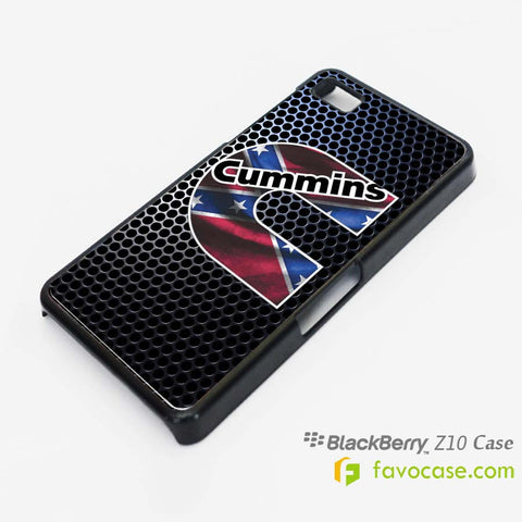 CUMMINS 2 Diesel Blackberry Z10 Q10 Case Cover