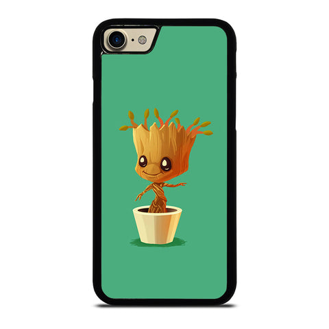 CUTE BABY GROOT IN THE POT-case-for-iphone-ipod-samsung-galaxy