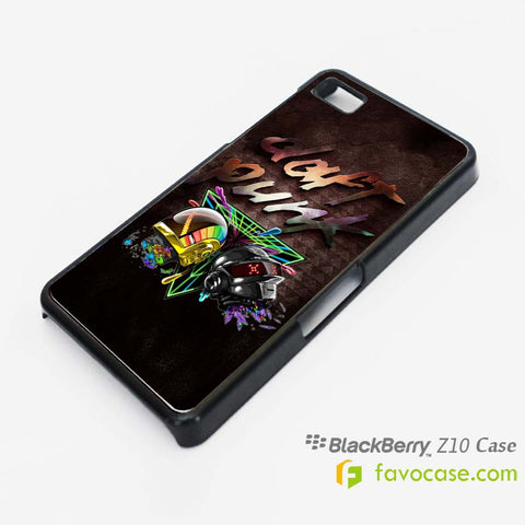 DAFT PUNK Duo DJ Blackberry Z10 Q10 Case Cover
