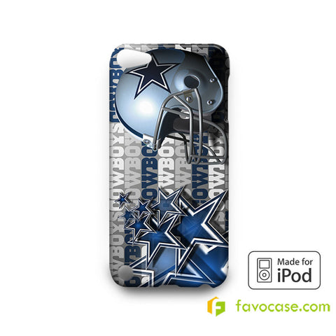 DALLAS COWBOYS Football Team NFL iPod Touch 4, 5 Case Cover