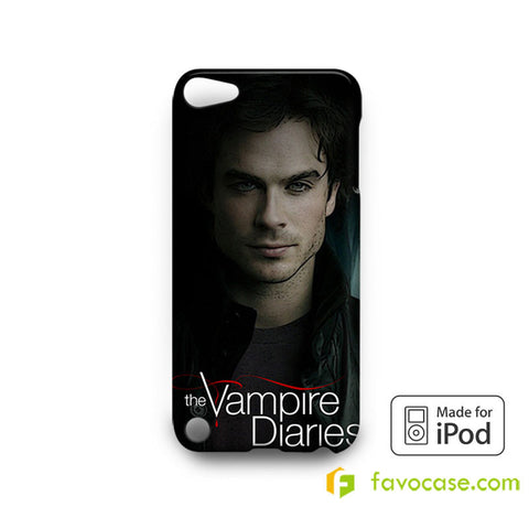 DAMON SALVATORE The Vampire Diaries iPod Touch 4, 5 Case Cover