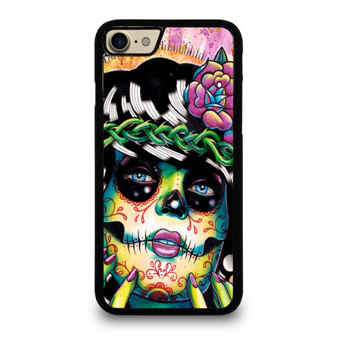 DAY-OF-THE-DEAD-SKULL-GIRL-Case-for-iPhone-iPod-Samsung-Galaxy-HTC-One