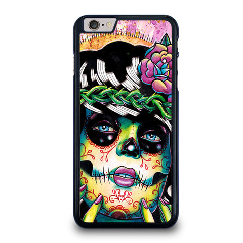 DAY-OF-THE-DEAD-SKULL-GIRL-iphone-6-6s-plus-case-cover
