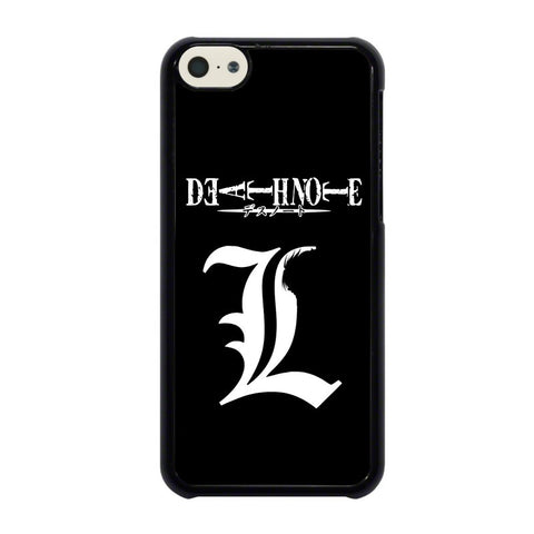 DEATH-NOTE-LIGHT-LOGO-iphone-5c-case-cover